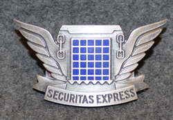 Securitas Express, cap badge