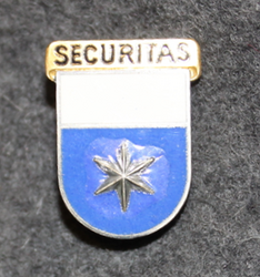Securitas cap badge