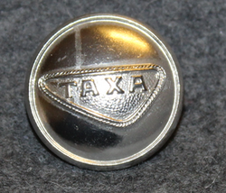 Taxa, taxi drivers uniform button, danish. 23mm