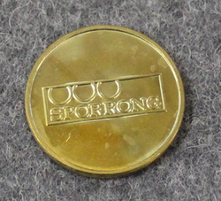 Örestens Flygklubb Mark. Aviation club coin.