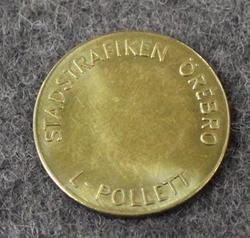 Örebro Stadstrafiken L-Pollett, joukkoliikennerahake