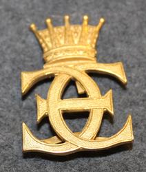 Ruotsin Prinssi Eugenin kuninkaallinen monogrammi.
