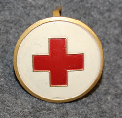 Svenska Röda Korset,Swedish Red Cross, cap badge