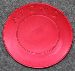 Ammunitionsförrådsgrupp Öster Norrland AFÖNO. Munitions depot. Red