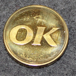 Oljekonsumenternas förbund, OK, öljyalan osuuskunta. 19mm