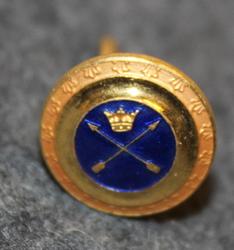 Dalregementet, swedish army. 14mm, enameled, cap button