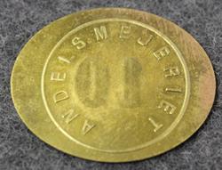 Mellersta Gotlands Andelsmejeriförening. Osuusmeijeri. 10
