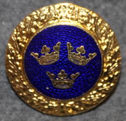 Svenska Amerika Linien, shipping company. Badge.