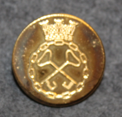 Västsvenska Vakt AB ( Göteborg ), Security company, 24mm gilt