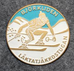 Låktatjåkkostugan Björkliden, hiihtomaja.