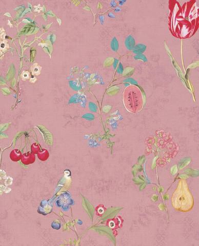 Tapetti 375023 Cherry Pink, pinkki