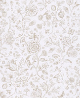 Tapetti 375010 Spring to life two tone Off white, luonnonvalkoinen