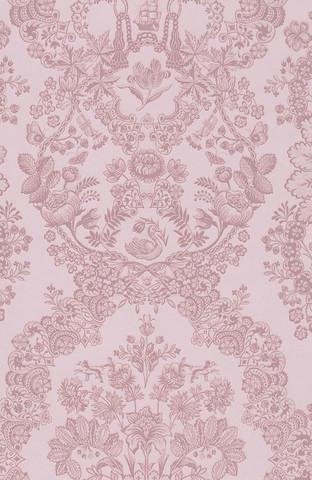 Tapetti 375043 Lacy Dutch Soft pink, vaaleanpunainen