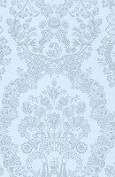 Tapetti 375045 Lacy Dutch Light blue, vaaleansininen