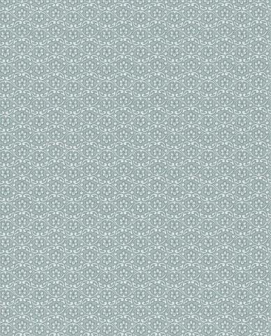 Tapetti 375051 Lacy Sea blue, merensininen