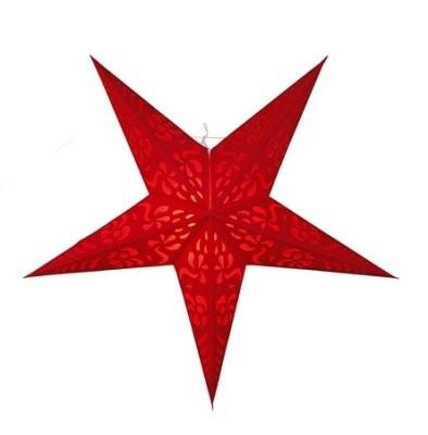 Paperitähti punainen 60cm