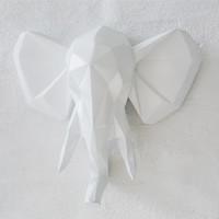Elefantti valkoinen