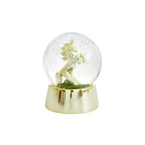 Lumisadepallo, yksisarvinen