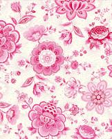 Tapetti 341010 Folklore Chintz Pink, vaaleanpunainen