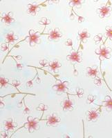 Tapetti 313026 Cherry Blossom White, valkoinen