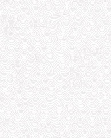 Tapetti 313030 Shanghai Bows White, valkoinen