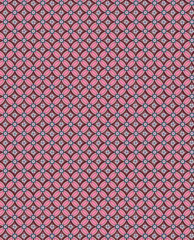 Tapetti 341023 Geometric Burgundy, viininpunainen