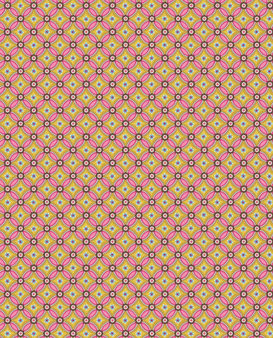 Tapetti 341027 Geometric Yellow, keltainen