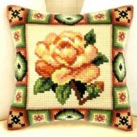 Ristipistopakkaus keltainen ruusu