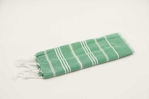 Hamam-käsipyyhe Ranta, vihreä