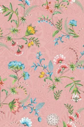 Tapetti 300122 La Majorelle Pink, vaaleanpunainen