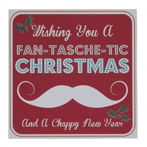 Fan-tasche-tic christmas- kortti