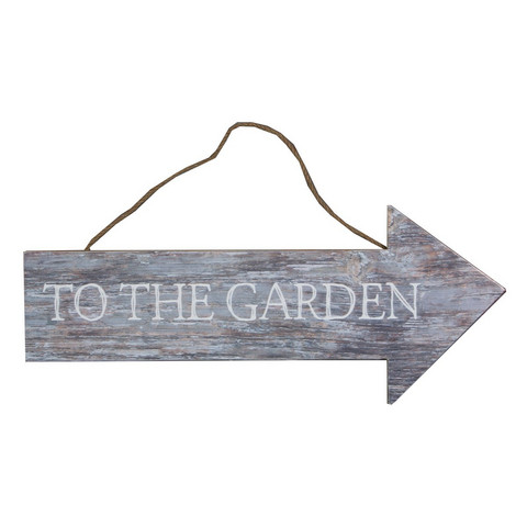 To the Garden-kyltti