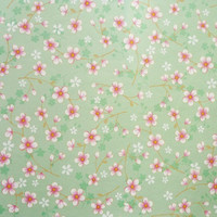 Tapetti 313024 Cherry Blossom, vihreä