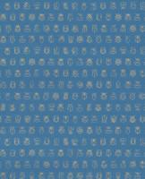 Tapetti 375036 Lady bug Blue, sininen