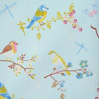 Tapetti 375081 Early bird Light Blue, vaaleansininen