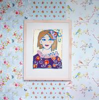Tapetti 375071 Chinese Rose Blue, vaaleansininen