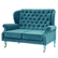 Kahdenistuttava sohva, petrol