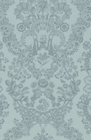 Tapetti 375042 Lacy Dutch Sea blue, merensininen