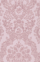 Tapetti 375043 Lacy Dutch Soft pink, vaaleanpunainen