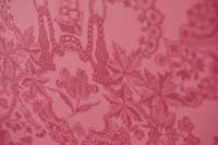 Tapetti 375044 Lacy Dutch Red pink, punainen