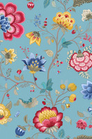 Tapetti 341035 Floral Fantasy Light Blue, vaaleansininen