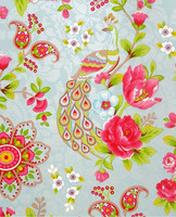 Tapetti 313051 Flowers In the Mix Light Blue, vaaleansininen
