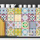 Kaakelitarra 15x15 cm, Värikäs WT1536