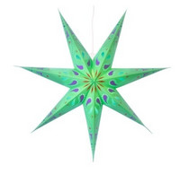 Siri paperitähti 70 cm, vihreä