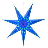 Siri paperitähti 70 cm, sininen