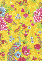Tapetti 313050 Flowers In the Mix Yellow, keltainen
