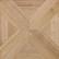 Kuviomosaiikki tammi ristikuvio (16 palaa) natur. Koko 340 x 340 mm