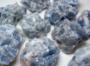 Kalsiitti sininen raakapala 40-65mm