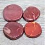 Mookiitti litteä (punasävyinen) 35-50mm
