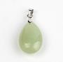 Riipus 'Drop' New Jade 24*15mm